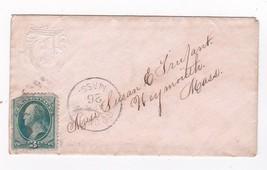 Brockton, Mass April 26, 188? With #184 Washington - $4.11