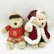 Starbucks Barista Plush Bears 2002 2004 Back To School Christmas Holiday - $16.82