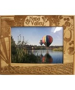 Napa Valley California Laser Engraved Wood Picture Frame (5 x 7) - $28.41