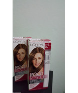 2x Loreal Root Rescue 10 Minute Root Color Kits, Shade #6-Light Brown. NIB - $17.81
