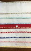 Zweigart Stitch Band 7323 Fabric Banding Needlework Cross Stitch Hearts ... - $7.90