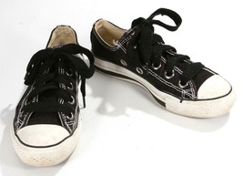 CONVERSE All Star Low Tops Shoes Sneakers Ladies Girls Women's Size 6 Black - $29.14