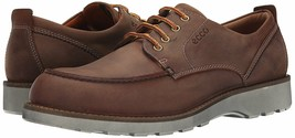 Men's ECCO Holbrok Olied Nubuck Tie Shoes, 532264 02053 Sizes 8-12.5 Cog... - $169.95