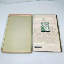 Cinerama Damask Tablecloth Napkin Set Cotton Rayon Japan New in Box Vintage - $7.42