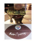 Dan Rooney Pittsburgh Steelers signed, autographed NFL logo football - C... - $249.99