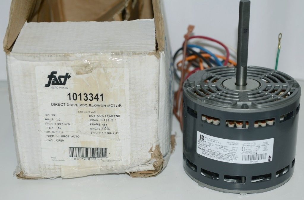 Emerson 1013341 Direct Drive PSC Blower Motor 115 Volts