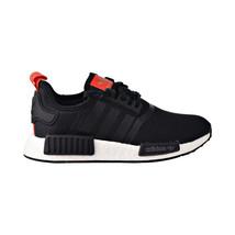 Adidas NMD_R1 Big Kids Shoes Black-White-Red B42087 - £56.16 GBP