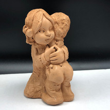 1979 Abbey Press St Meinrad pottery figurine statue sculpture Indiana 47... - $27.72