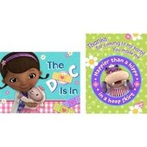 Doc McStuffins Lambie Hallie Birthday Party 8 Invitation Thank You Postcards - $5.39