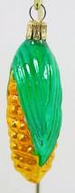 Corn on The Cob Ear Christmas Ornament Hand Painted Blown Czechoslovkia ... - $15.00