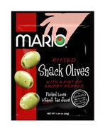 Mario Camacho Foods Pitted Snack Olives, with a Hint of Savory Pepper, 1... - $15.75