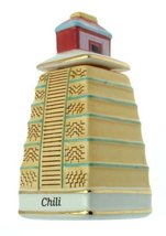 Danbury Mint c1993 Spices of The World Mexican Mayan Pyramid Chili Spice jar CLT - $31.84