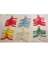 Vintage Barbie hangers multi colors - $57.00