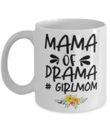 Mother's Day Gift- Mama Of Drama #GirlMom - 11 oz Coffee Mug -Funny Sweet  - £14.24 GBP