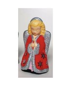 """Katherine's Collection Angel 28-28733 red silver tabletop 8"""" - $35.99"""