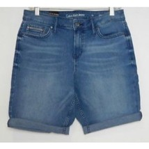 Calvin Klein Womens Size 10 Shorts Jean City Short Knee Length Joel Meid... - $15.83