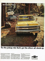 Vintage 1969 Magazine Ad Chevrolet Pickup Truck  More Truck & American Express  - $5.93