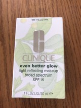 G Clinique Even Better Glow Light Reflecting Makeup SPF15 WN 112 Ginger M/D - €39,16 EUR