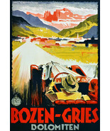 "20x30""Poster on Canvas.Home Room Interior design.Travel Italy.Bozen.6518 - $60.78"