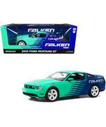 """2010 Ford Mustang GT """"Falken Tires"""" 1/18 Diecast Model Car by Greenlight - $92.49"""