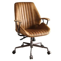 Acme Hamilton Top Grain Leather Office Chair In Coffee Leather - $777.19