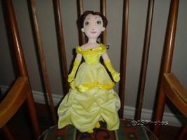 Disney Beauty & The Beast Rag Doll Belle 16 inch Velvet - $115.99