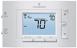 Emerson - 1F83C-11PR Single-Stage 1H/1C Programmable Thermostat - $94.39