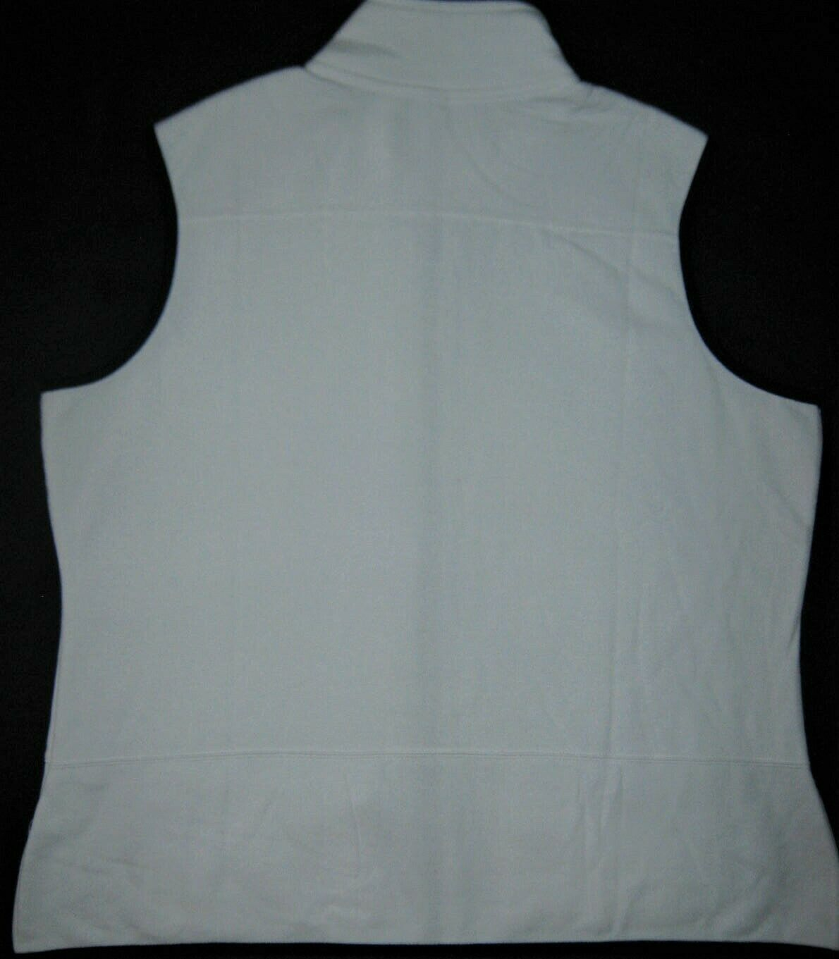 Womens GEAR for Sports Zip Front Pockets Sleeveless Vest White New XXL