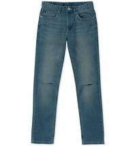 Calvin Klein Boys' Big Skinny Jeans, Silver Bullet, 14 - $20.29