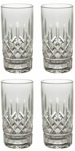 Waterford Crystal Lismore Straight HiBall Pair Two pairs 4 Glasses # 5503182120 - $286.11