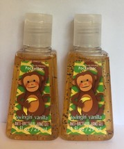 Bath and Body Works SWINGIN' VANILLA Antibacterial Antibac Hand Gel 1 oz x2 - $13.81