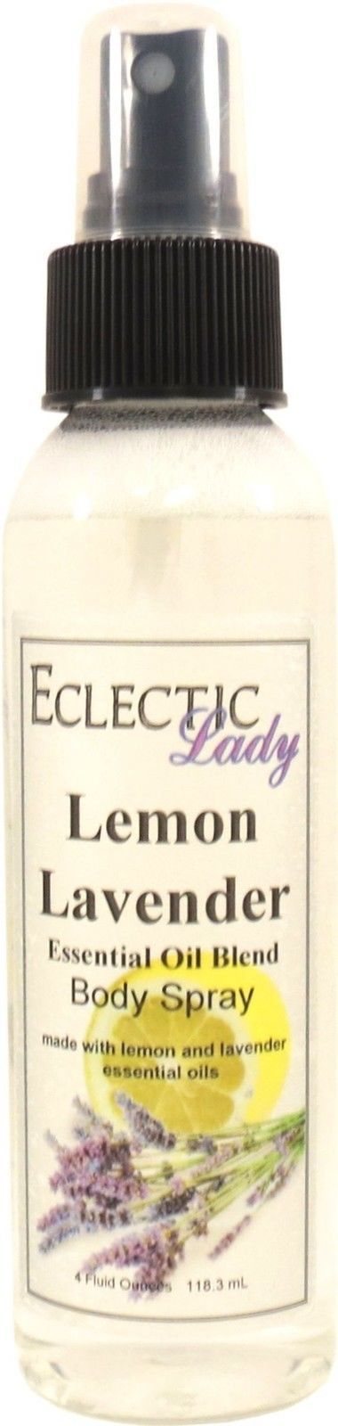 Lemon Lavender Essential Oil Blend Body Spray