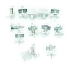 LOT OF 10 GENERIC 2AFE0-GEF0-9001 MOUNTING CLIPS 390-15