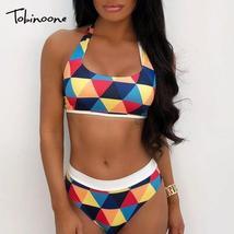Tobinoone Women Boho Dashiki Jumpsuits Shirt Clubwear Short Bodysuits Wo... - $38.32