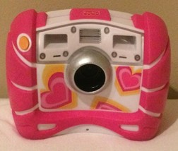 Fisher Price Kid Tough Digital Camera 4X Zoom Pink V2751 V2752 with Batt... - $14.99