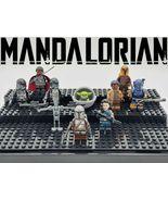 10pcs/set Star Wars The Mandalorian Baby Yoda Moff Gideon Paz Vizsla Min... - $21.99