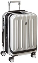 "Delsey Helium Titanium 19"" International Carry-On Expandable Spinner Lug... - $110.08"