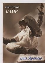 1998 Fleer / SI Legends Luis Aparicio card, Chicago White Sox HOF - $0.99