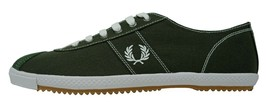 Fred Perry Table Tennis Canvas Plimsolls Trainers Pumps Casual Shoes B63... - $63.61