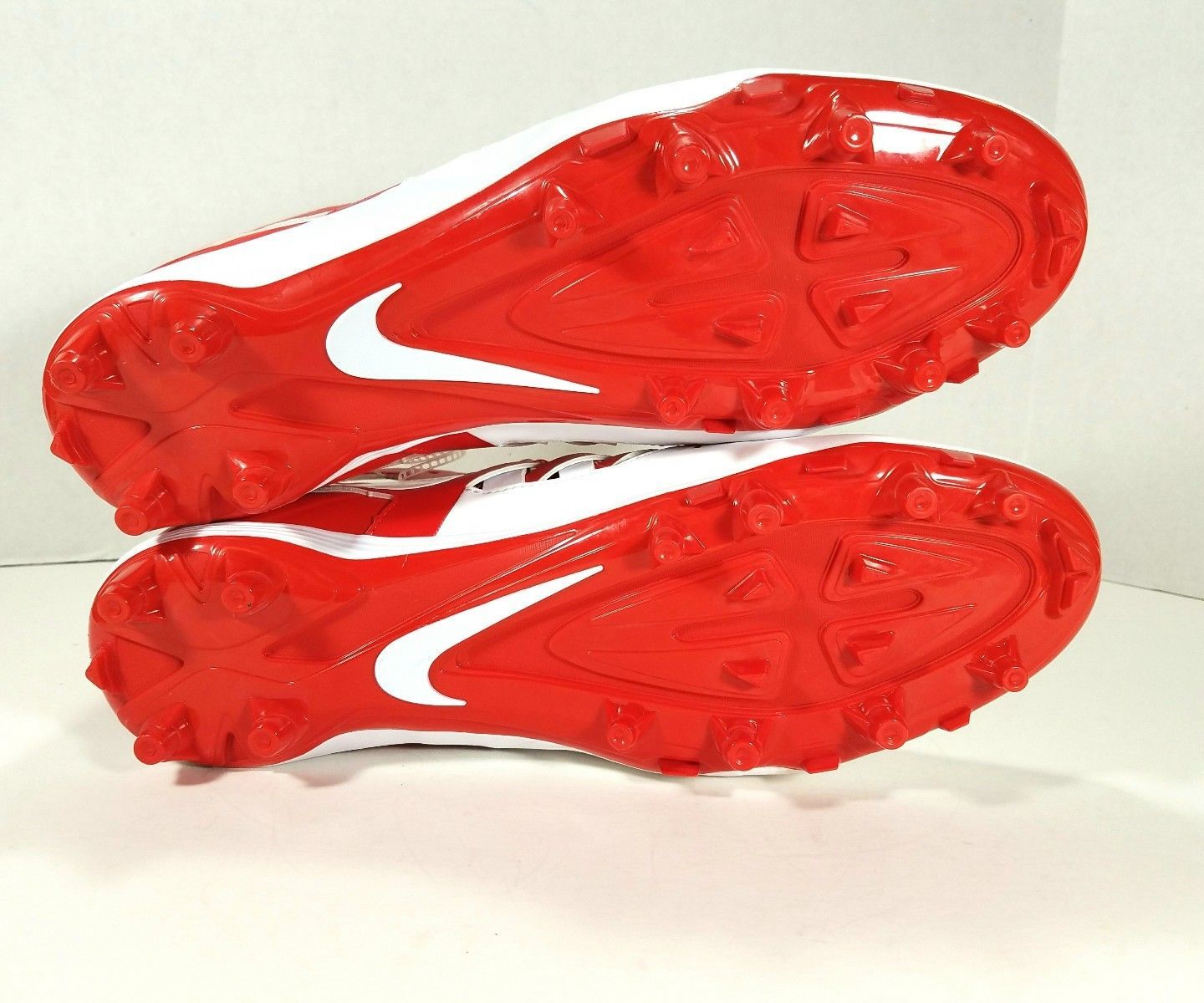online store 03392 a621d Nike Huarache V 5 LAX Mid Lacrosse Cleats Men s Size 12 Red   White 807142-