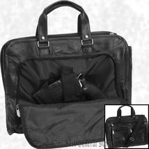"16"" Leather Concealed Carry Briefcase Bag Weapon Case Hidden Handgun Hol... - $23.99"