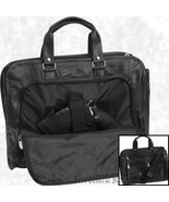 "16"" Leather Concealed Carry Briefcase Bag Weapon Case Hidden Handgun Hol... - $23.99"