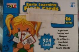 Brighter Child Flash cards - $23.36