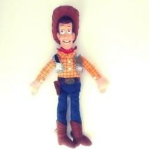 "Disney Store Woody Doll Figure 12"" from TOY STORY 2 Plush Vinyl Head Fel... - $27.04"