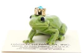 Hagen-Renaker Miniature Ceramic Frog Figurine Birthstone Prince 12 December image 2