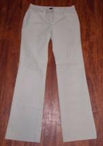 Women's Ann Taylor Corduroy Dress Pant's ~ Size 0 ~ Beige ~ Flat Front - $19.79