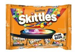 Skittles Cauldron Halloween Fun Size Bag - 10.72oz - 2 BAGS - €29,15 EUR
