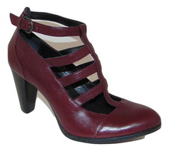 BORN Caged Style Pumps Wine Leather 7.5 Lk Nw!! - $77.21
