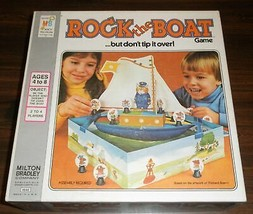 Milton Bradley Rock the Boat But Don't Tip It Over! Game Vintage Richard Scarry  - $49.49