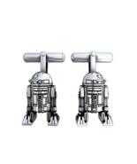 R2D2 Zwillinge Vergoldet IN Silber Schmuck Offizielles Star Wars Und Luc... - $341.96